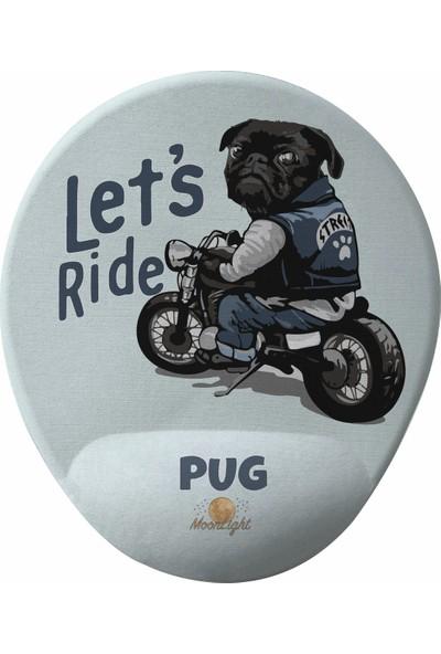 GameBoss Ride Pug Bilek Destekli Tasarım Mouse Pad