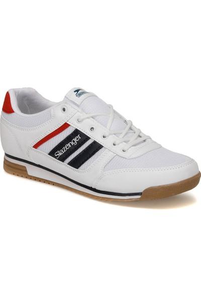 Slazenger Actıve Beyaz Erkek Kalın Tabanlı Sneaker