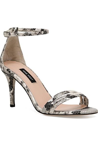 Nine West Tense Gri Kadın Sandalet