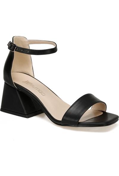 Butigo Barris Siyah Kadın Topuklu Ayakkabı