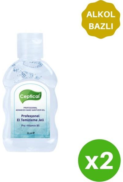 Ceptical Alkol Bazlı Anti-Bakteriyel Jel - 2 Adet 50 ml