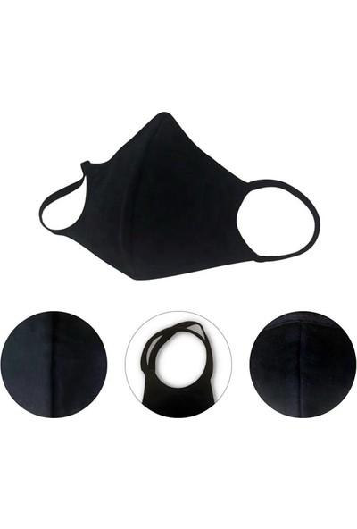 Gamerloot Testex Yıkanabilir Siyah Maske - 10 Adet
