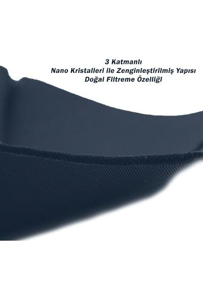 Gamerloot Testex Yıkanabilir Koyu Lacivert Maske - 5 Adet