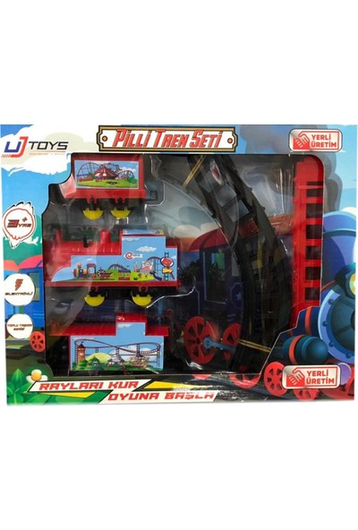 UJ Toys Oyuncak Pilli Tren Seti