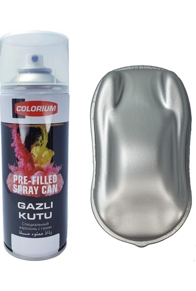 Plasti Dip 400 ml Sökülebilir Kauçuk Metalik Gri Sprey Boya Plastidip