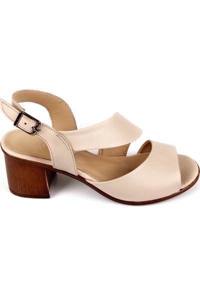 Gön Deri Kadın Sandalet 45632