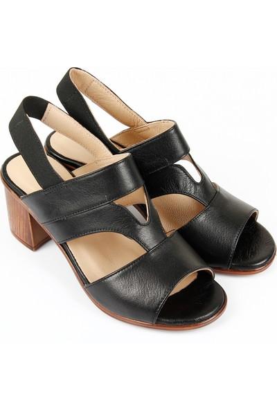 Gön Deri Kadın Sandalet 45633