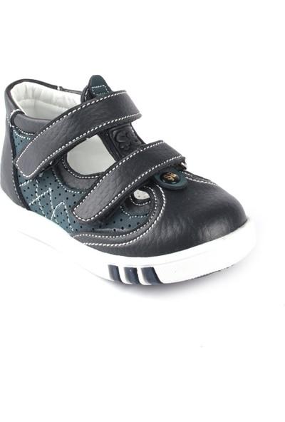 Şirin Bebe Erkek Çocuk Ayakkabı Siyah Yeşil