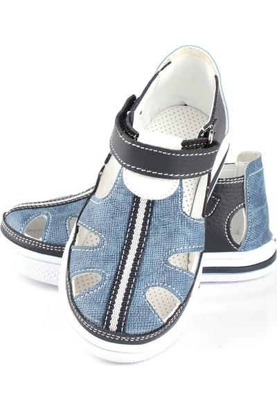Şirin Bebe Erkek Çocuk Ayakkabı Lacivert Kot