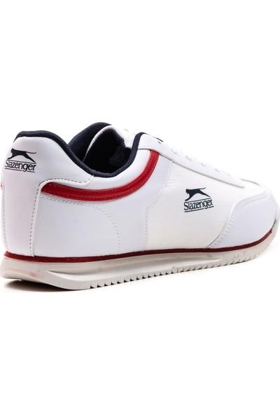 Slazenger Mojo Günlük Giyim Erkek Ayakkabı Beyaz Kırmızı