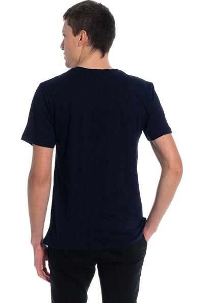 Slazenger Sea Erkek T-Shirt Lacivert