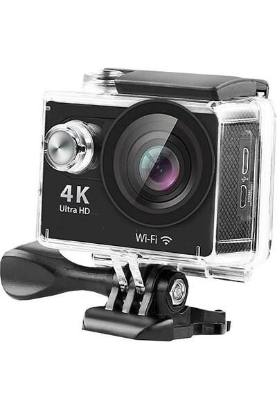 Sky Go Aksiyon Araç İçin Kamera Angeleye 4K Vantuz Ayak