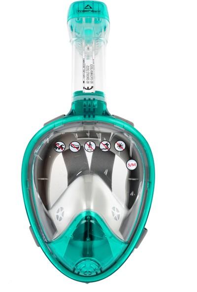Triathlon CSF2098 Yeşil Dalış Maskesi