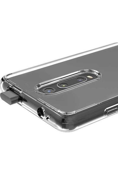 Teleplus Xiaomi Mi9T Kılıf Coss Sert Hibrit Silikon - Şeffaf + Nano Ekran Koruyucu