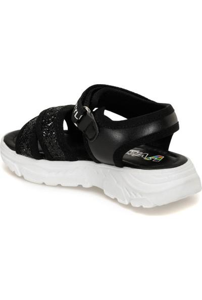 Vicco 321.P20Y.374 Siyah Kız Çocuk Sandalet