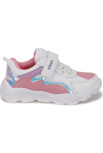 Vicco 346.P20Y.205 Beyaz Kız Çocuk Koşu Ayakkabısı