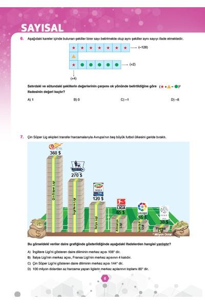 Sınav Yayınları 8. Sınıf 1. Dönem Lgs Çözümlü 5 Deneme