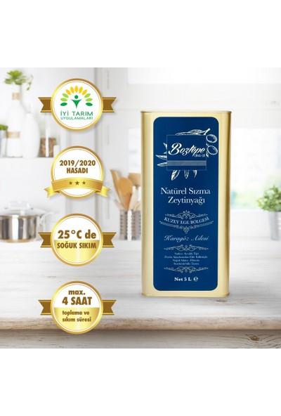 Boztepe İyi Tarım Sertifikalı 2019 Hasatı Natürel Sızma Filtresiz Soğuk Sıkım Zeytinyağı 5 LT