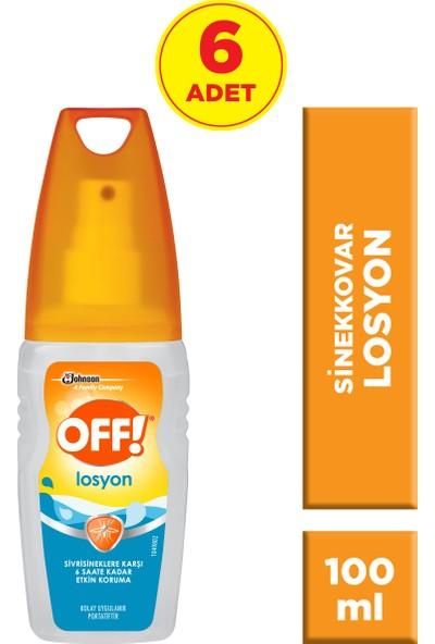 Off! Sinekkovar Losyon 6'lı