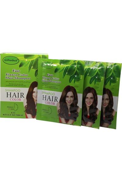 Go Perfect Renklendirici Saç Şampuanı 8.11 Küllü Kumral 10X30 300 ml