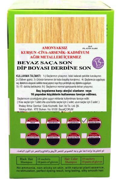 Go Perfect Renklendirici Saç Şampuanı 10.5 Sarı 10X30 300 ml