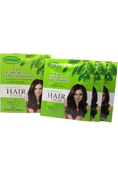 Go Perfect Renklendirici Saç Şampuanı 8.0 Açık Kumral 10X30 300 ml
