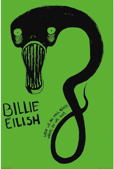 GB Eye Billie Eilish Ghoul Maxi Poster