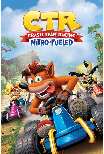 Pyramid Crash Bandicoot Team Racing Maxi Poster