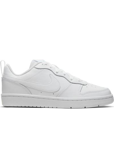 Nike Court Borough Low 2 (Gs) Kadın Spor Ayakkabı Bq5448-100