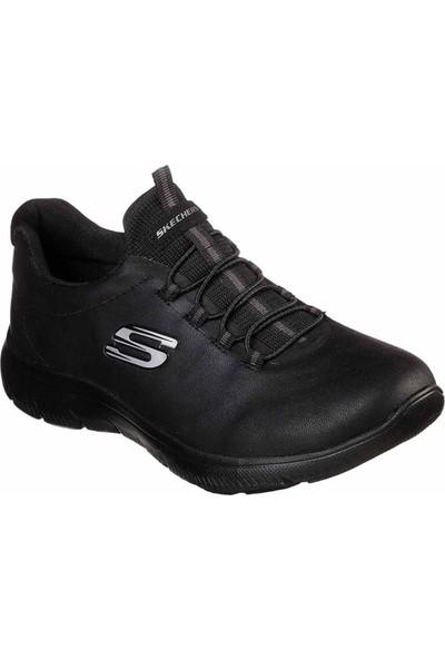 Skechers Summits Kadın Siyah Spor Ayakkabı 88888301 Bbk