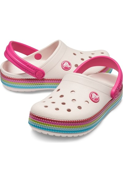 Crocs Crocband Sequin Band Clog K Çocuk Terlik 205525-6Pı