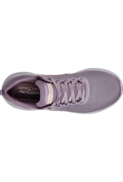 Skechers Ultra Flex -Free Spırıts Kadın Spor Ayakkabı 12846-Pur