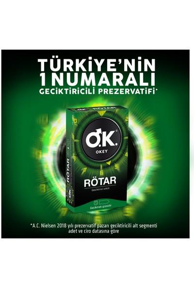Okey Rötar Prezervatif 10'lu