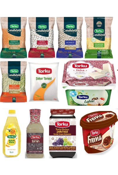 Torku Temel Gıda Paketi 12 Çeşit