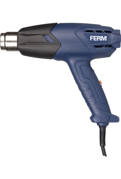 FERM Power HAM1019 Sıcak Hava Tabancası - 2 Sıcaklık değerleri - 400 ila 600 derece - 2000W