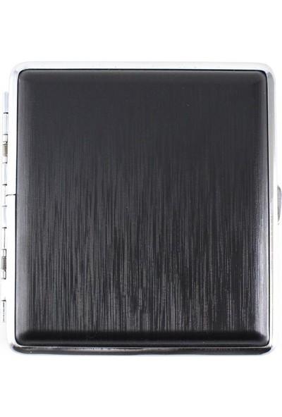 Angelo German Dunkel Metal Sigara Tabakası Siyah 18LI