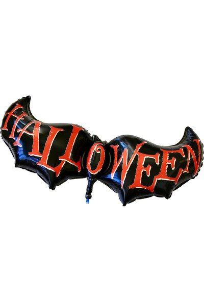 Ohlala Party Halloween Yazılı Folyo Balon