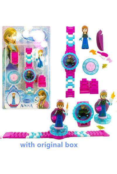 Can Ali Toys Frozen Karlar Ülkesi Çocuk Kol Saati Seti