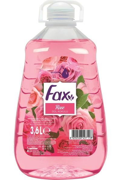 Fax Gül Sıvı Sabun 3,6 lt