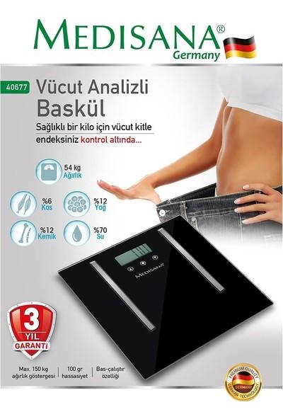 Medisana 40677 Vücut Analizli Baskül
