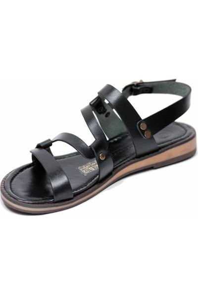 Mammamia D20YS 1780 Deri Kadın Sandalet