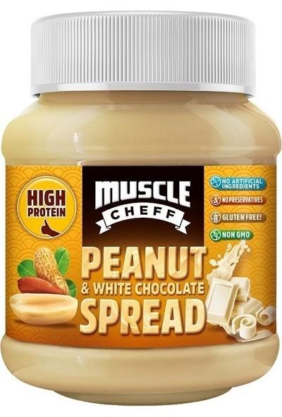Muscle Cheff Beyaz Çikolatalı Yer Fıstığı Kreması 350 gr