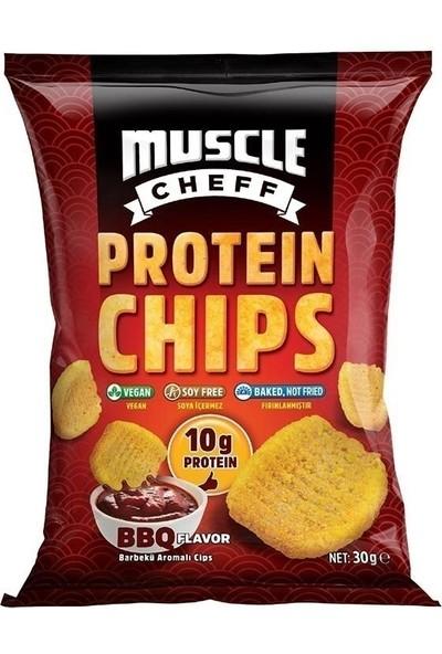 Muscle Cheff Proteın Chıps 30 gr Barbekü