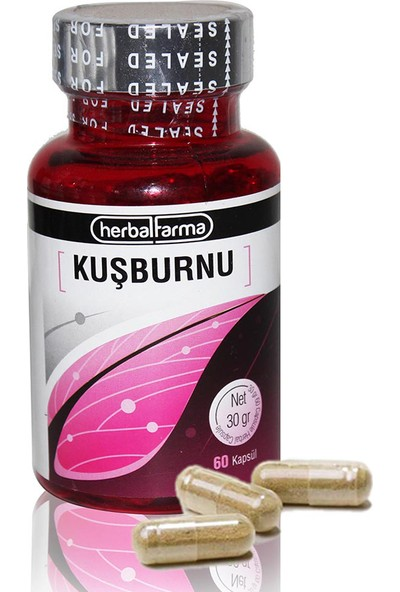 Herbal Farma Kuşburnu Kapsül