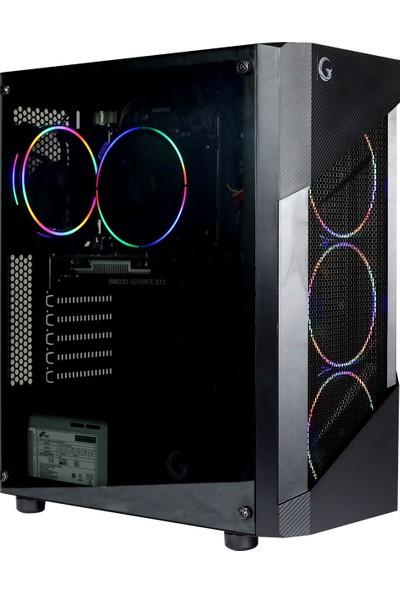 Game Garaj Pollux 3AN-C03 AMD Ryzen 5 1600 8GB 240GB SSD GTX1650 Super Freedos Masaüstü Bilgisayar