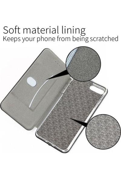 A Shopping Samsung Galaxy S7 Edge Kılıf Kapaklı Cüzdan Flip Cover Wallet Kılıf - Bordo