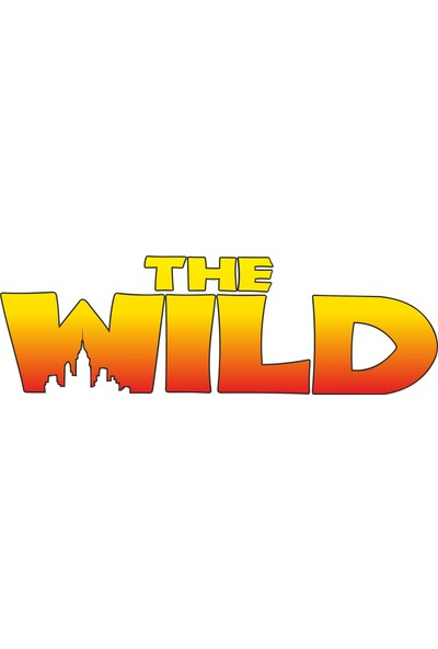 Sticker Fabrikası Wild offroad 4x4 sticker 00038 25 x 8 cm Renkli