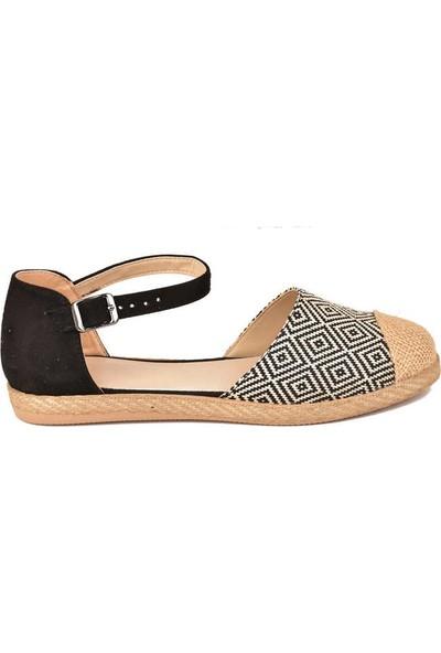 Keçeli Ayakkabı Kilim Desen YS03-20Y