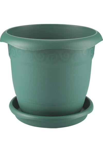 Emek Dekoratif 204-PAPATYA Saksı (14 Lt )Yeşil