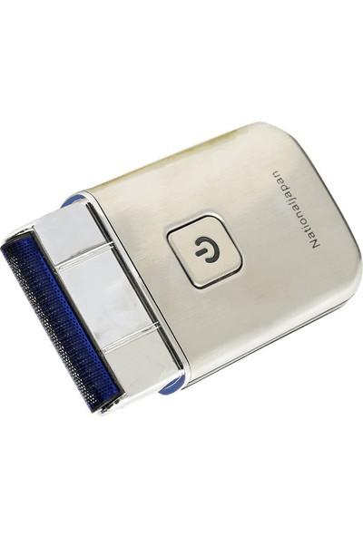 National Japan Nj-66 USB Şarjlı 5V-500MA Slim Kasa Tıraş Makinesi